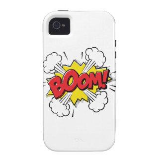 Boom Cartoon Design Case-Mate iPhone 4 Cover