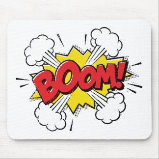 Boom Cartoon Design Mouse Pad