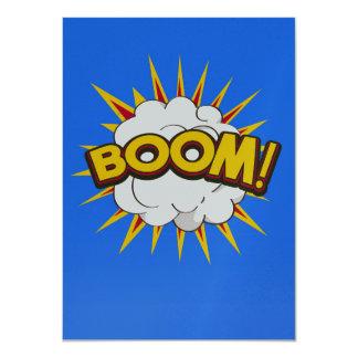 Boom! Cartoon Explosion Card
