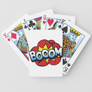 Boom dynamite bicycle playing cards