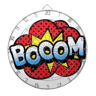 Boom dynamite dartboard with darts