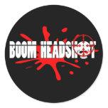 Boom   Headshot stickers