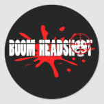 Boom   Headshot Sticker