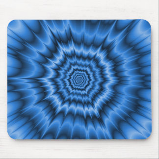 Boom! in Blue Mousepad