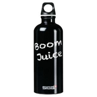 Boom Juice - White Writing Aluminum Water Bottle