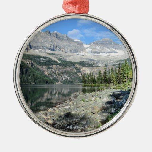 Boom Lake National Park British Columbia Canada Metal Ornament