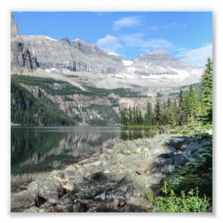 Boom Lake National Park British Columbia Canada Art Photo