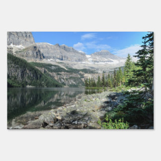 Boom Lake National Park British Columbia Canada Lawn Signs
