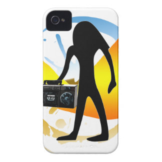 Boom like and Egyptian iPhone 4 Case-Mate Case