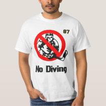 BOOM! No Diving Sid. T-Shirt