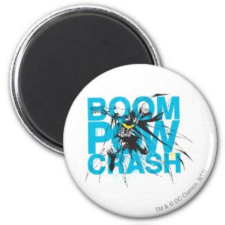 Boom Pow Crash 2 Inch Round Magnet