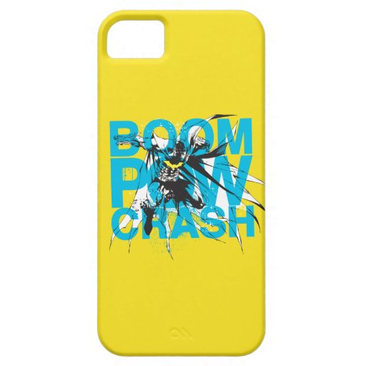 Boom Pow Crash iPhone SE/5/5s Case