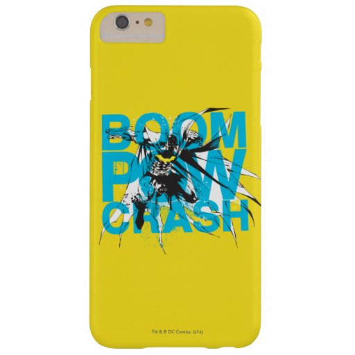 Boom Pow Crash Barely There iPhone 6 Plus Case