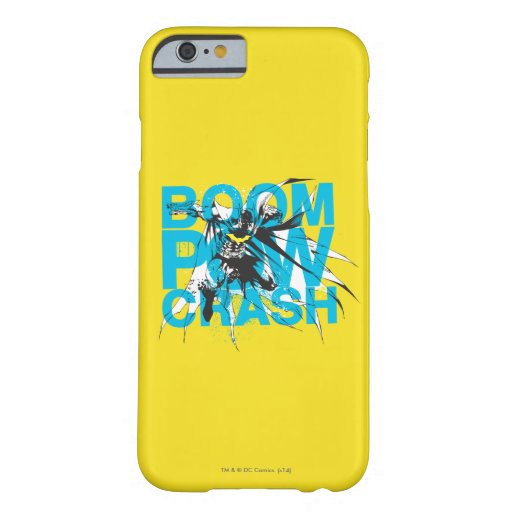 Boom Pow Crash Barely There iPhone 6 Case