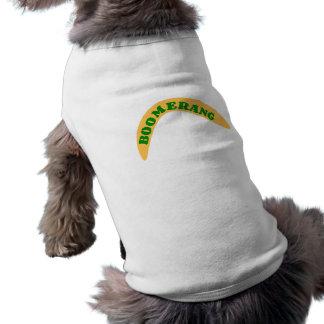 Boom rank dog clothing