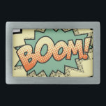 "boom rectangular belt buckle<br><div class=""desc"">Boom!</div>"