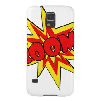 Boom! SFX Cartoon Cases For Galaxy S5