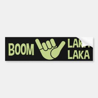 Boom Shaka Wave Bumper Sticker
