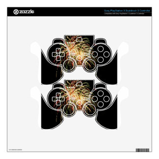 Boom Skies Decal For PS3 Controller