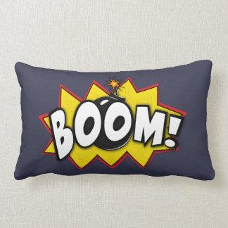 Boom Superhero Comic Action Words Pillow
