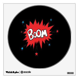 Boom Wall Decal