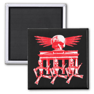 Boombastik Boogie Woogie 2 Inch Square Magnet