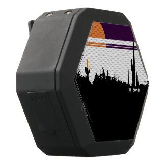 Boombot REX AZ POSTCARD DESIGN Black Bluetooth Speaker