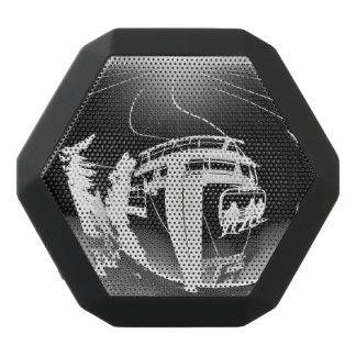 Boombot Rex bluetooth speaker w/chairlift art Black Boombot Rex Bluetooth Speaker