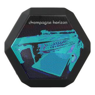 Boombot Rex bluetooth speaker w/turntable art Black Boombot Rex Bluetooth Speaker