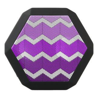 Boombot REX - Chevron Purple Black Bluetooth Speaker