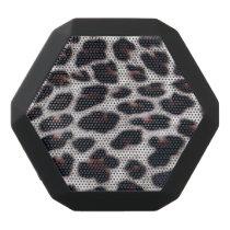 Boombot REX/Leopard Print Black Bluetooth Speaker