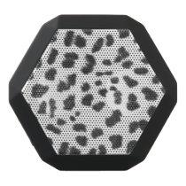 Boombot REX/Leopard Spots Black Bluetooth Speaker