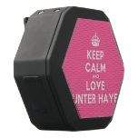 [Crown] keep calm and love hunter hayes  Boombot REX Speaker Black Boombot Rex Bluetooth Speaker