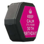 [Crown] keep calm it's your 30th birthday  Boombot REX Speaker Black Boombot Rex Bluetooth Speaker
