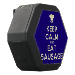 [Chef hat] keep calm and eat sausage  Boombot REX Speaker Black Boombot Rex Bluetooth Speaker
