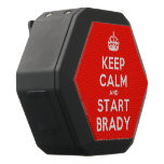 [Crown] keep calm and start brady  Boombot REX Speaker Black Boombot Rex Bluetooth Speaker