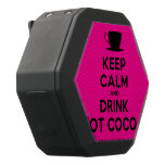 [Cup] keep calm and drink hot cocoa  Boombot REX Speaker Black Boombot Rex Bluetooth Speaker