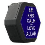 [No Crown] keep calm and love allah  Boombot REX Speaker Black Boombot Rex Bluetooth Speaker