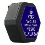 [Crown] keep woles dan katakan yesus selalu baik  Boombot REX Speaker Black Boombot Rex Bluetooth Speaker