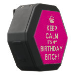 [Crown] keep calm it's my birthday bitch!  Boombot REX Speaker Black Boombot Rex Bluetooth Speaker