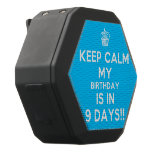 [Cupcake] keep calm my birthday is in 9 days!!  Boombot REX Speaker Black Boombot Rex Bluetooth Speaker