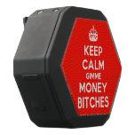[Crown] keep calm gimme money bitches  Boombot REX Speaker Black Boombot Rex Bluetooth Speaker