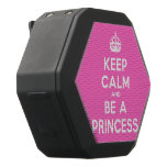 [Crown] keep calm and be a princess  Boombot REX Speaker Black Boombot Rex Bluetooth Speaker
