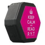 [Crown] keep calm and read p.y.t  Boombot REX Speaker Black Boombot Rex Bluetooth Speaker