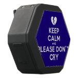 [Broken heart] keep calm and please don't cry  Boombot REX Speaker Black Boombot Rex Bluetooth Speaker