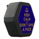 [Dancing crown] keep calm and don't give a fuck  Boombot REX Speaker Black Boombot Rex Bluetooth Speaker