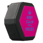 [Crown] keep calm i'm a pisces  Boombot REX Speaker Black Boombot Rex Bluetooth Speaker