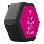 [Cupcake] keep calm and eat cake  Boombot REX Speaker Black Boombot Rex Bluetooth Speaker