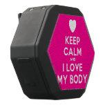[Love heart] keep calm and i love my body  Boombot REX Speaker Black Boombot Rex Bluetooth Speaker