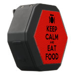 [Cutlery and plate] keep calm and eat food  Boombot REX Speaker Black Boombot Rex Bluetooth Speaker